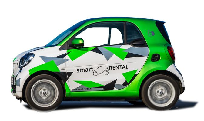 Rent a Car Split Smart FOR TWO